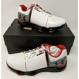 Under Armour UA Spieth One JR Golf Shoes Sz 4Y